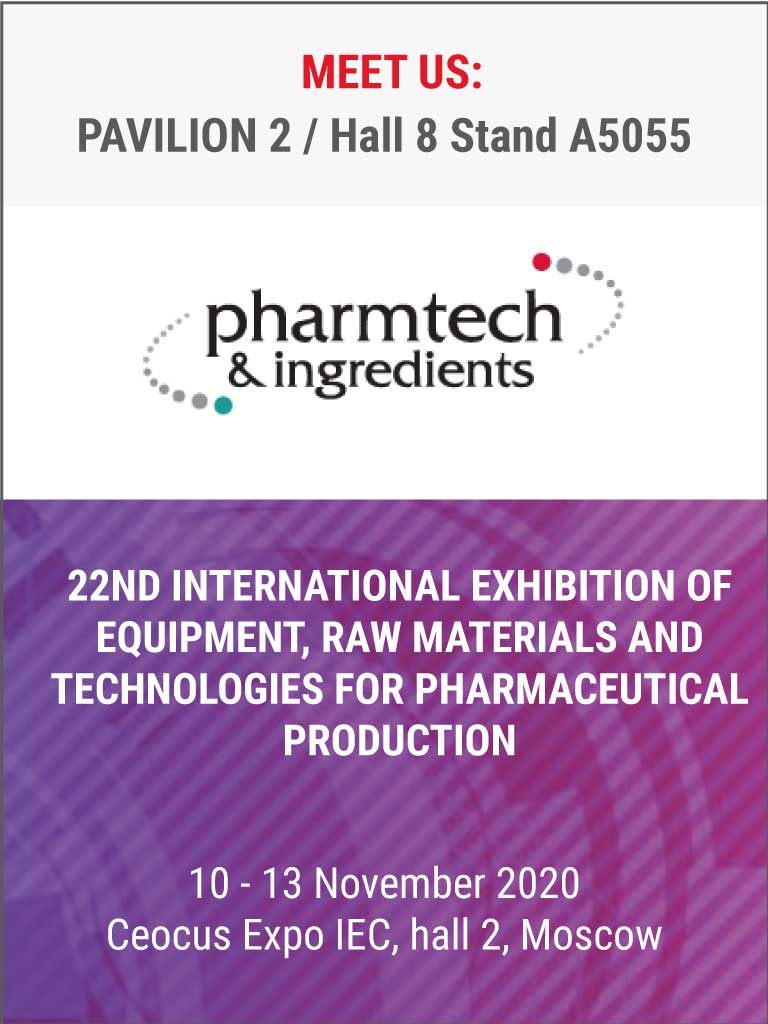 Pharmatech&Ingredients Moscow 2020